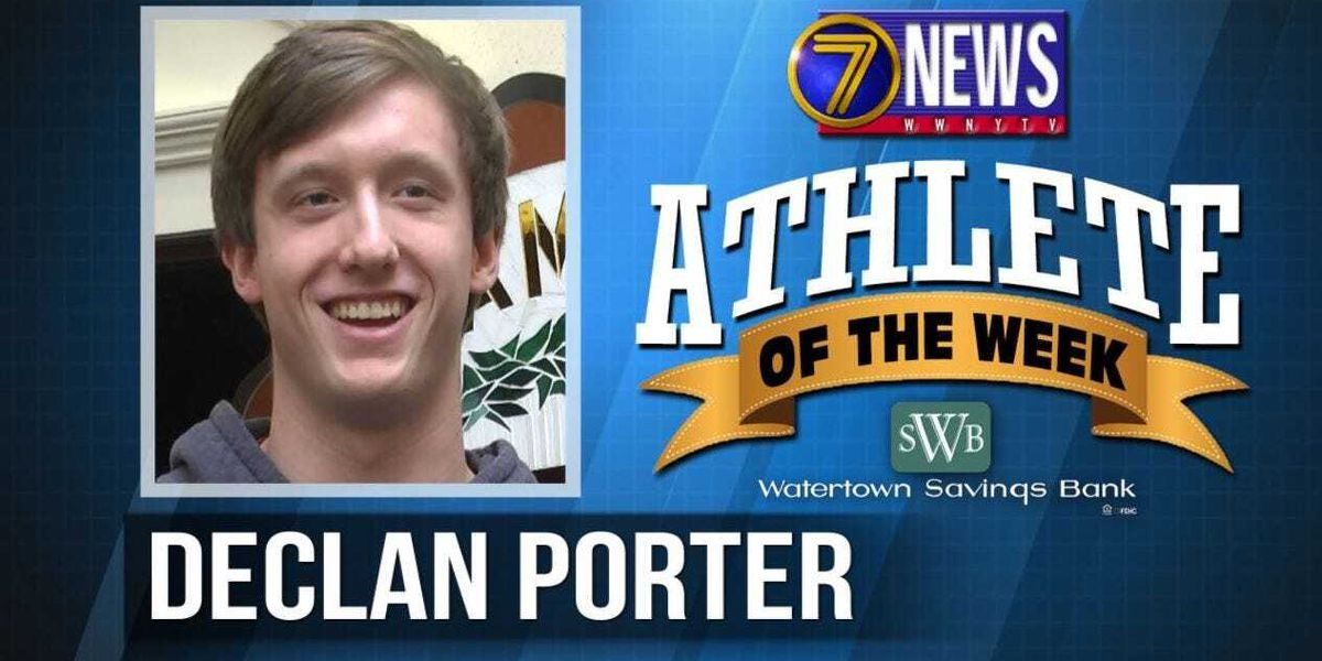 Athlete of the Week: Declan Porter
