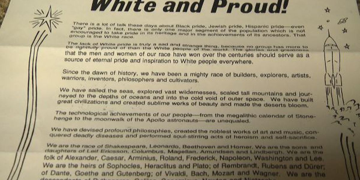 Apparent neo-Nazi group sends letters to Watertown businesses