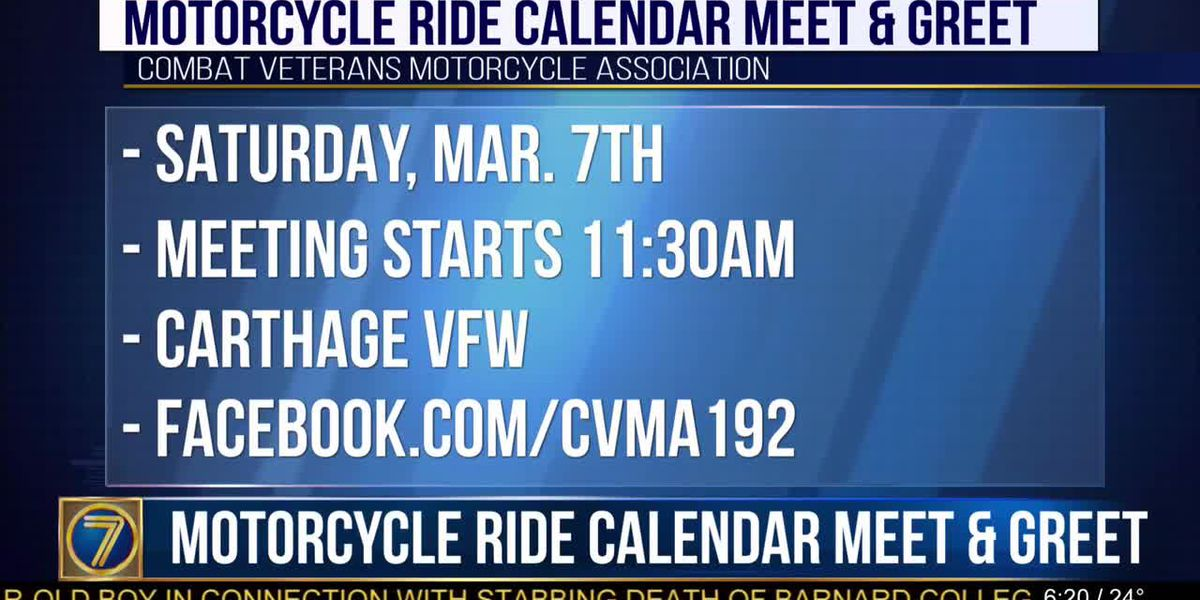 Sync your calendars at motorcycle meet & greet