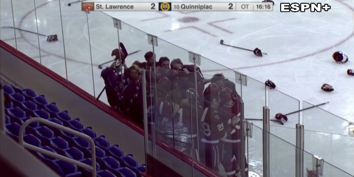 St. Lawrence Men's Hockey Season ends with ECAC Hockey Title as coach tests positive for COVID-19
