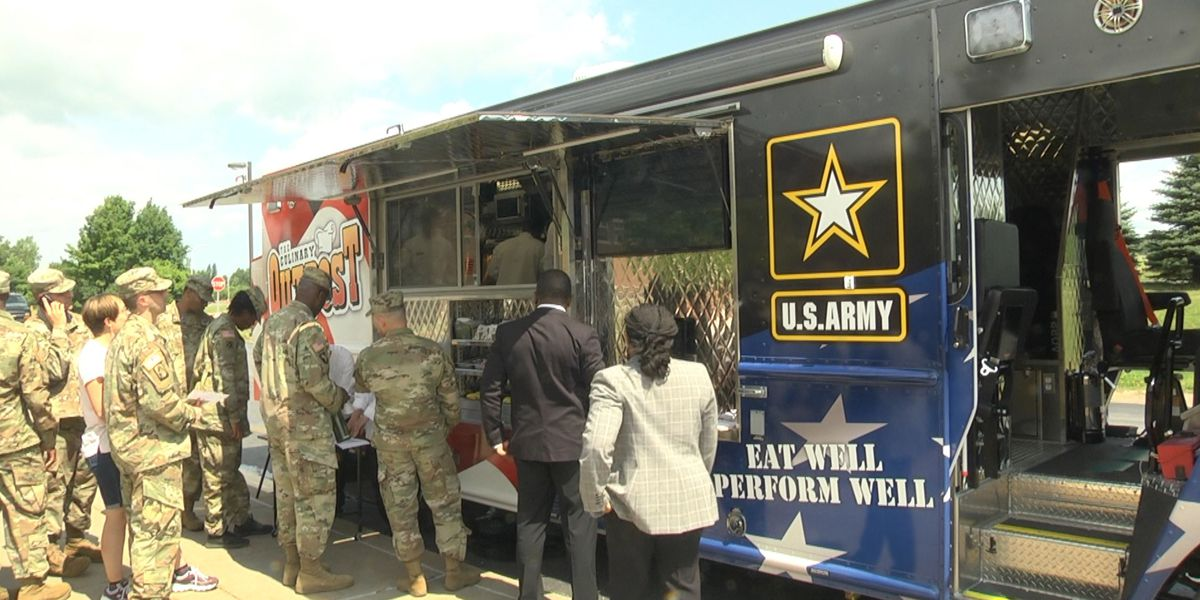 Fort Drum debuts its own food truck