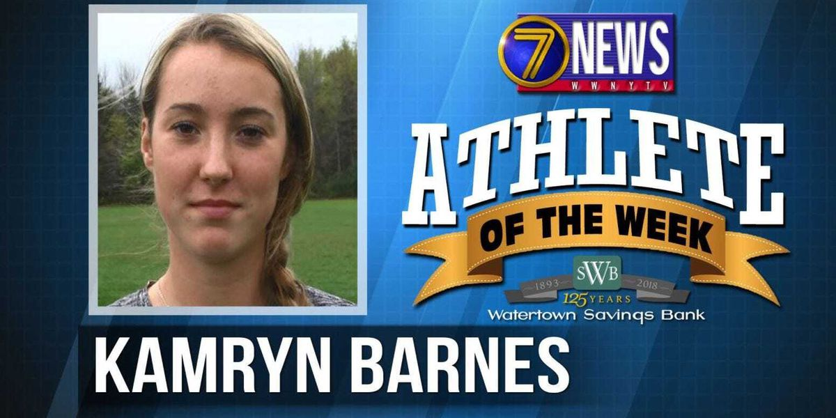 Athlete of the Week: Kamryn Barnes