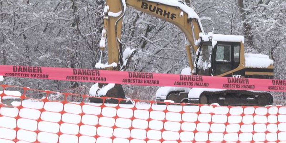 Demolition crews clear land for new Dairy Queen in Canton