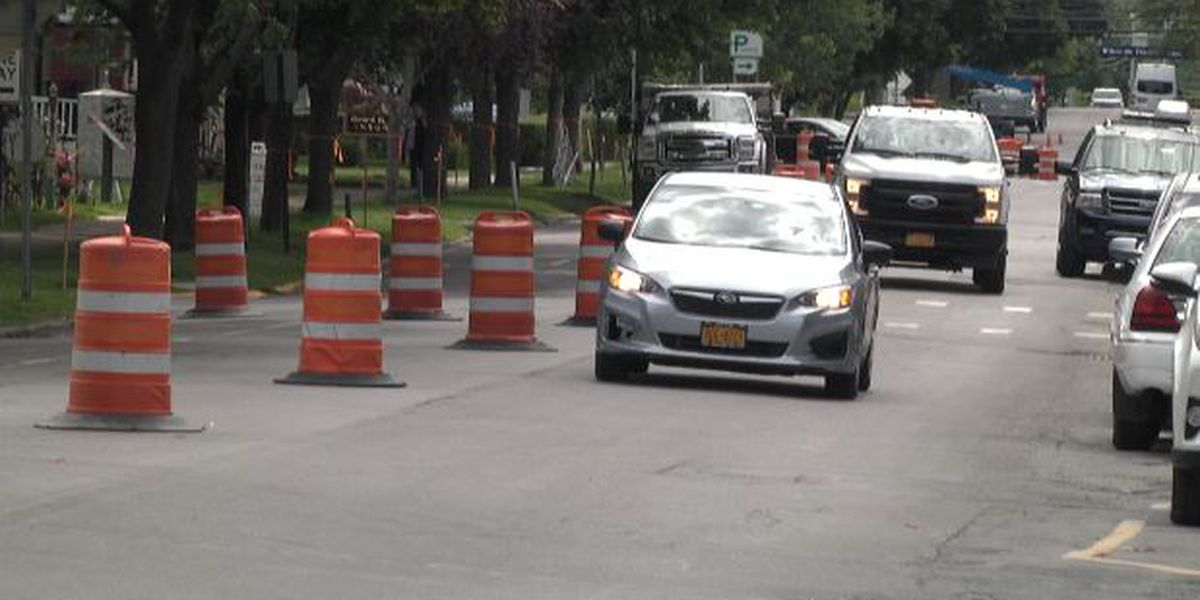 Loss of parking concerns some during Clayton roadwork project