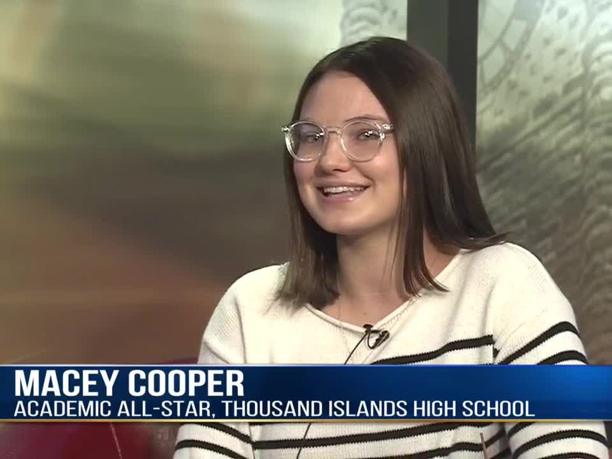 Academic All-Star: Macey Cooper