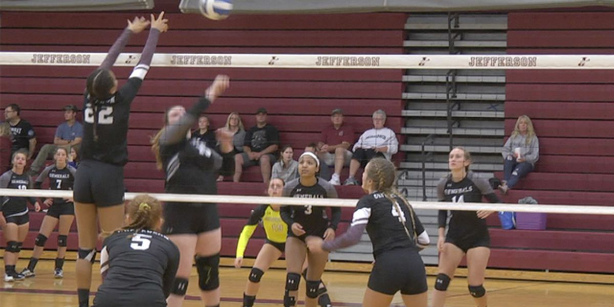 Lady Cannoneers enjoy success on the volleyball court