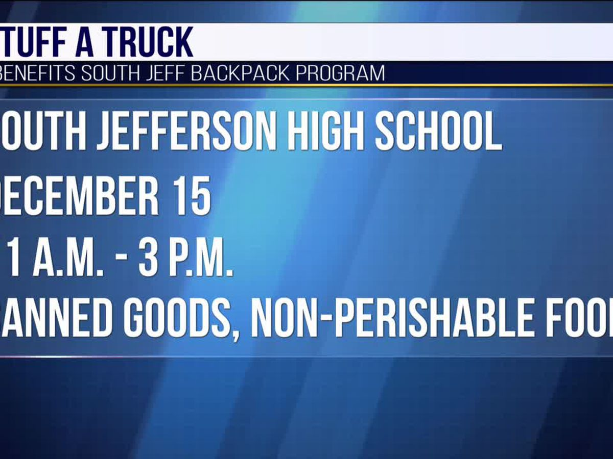 South Jeff students to hold 'Stuff A Truck' benefit