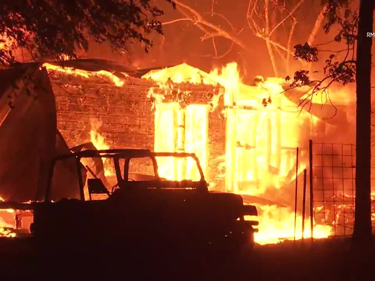 New wildfires scorch wine country near San Francisco