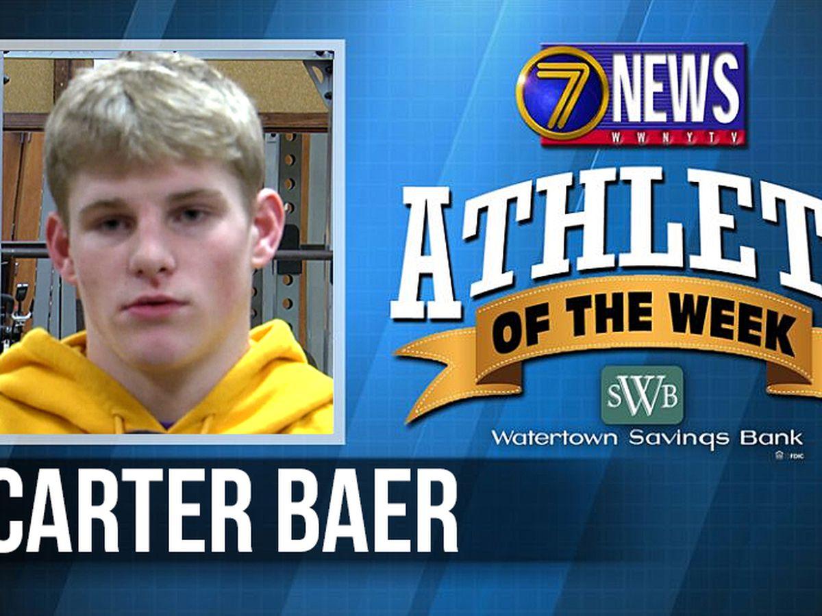 Athlete of the Week: Carter Baer