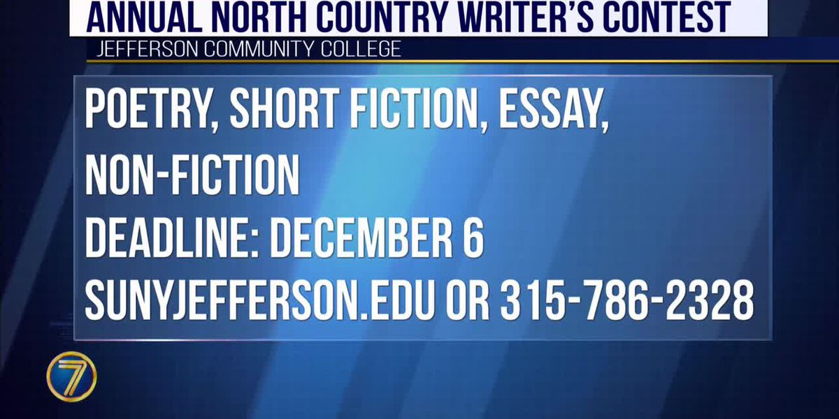 JCC continues to accept entries for North Country Writers Contest