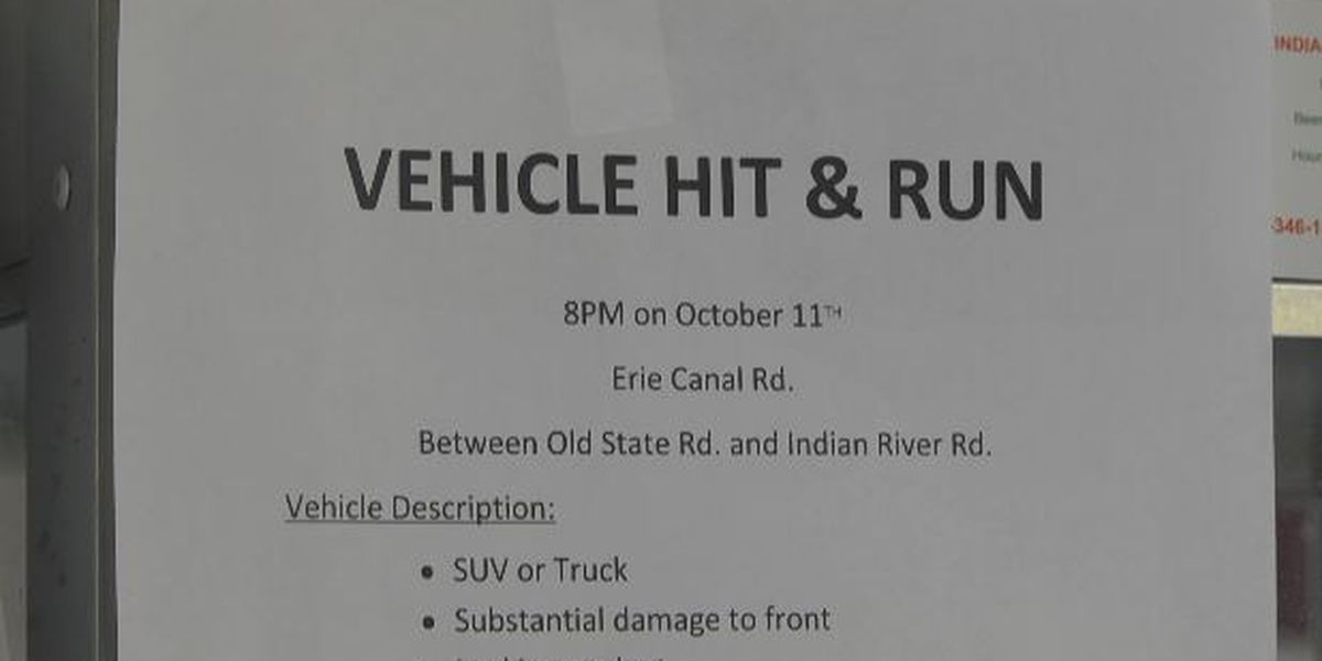 Information sought on reported hit and run crash