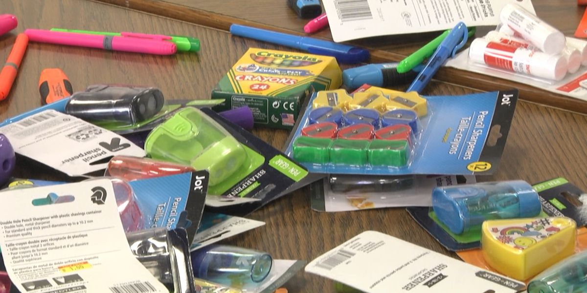 Watertown's Urban Mission is giving out school supplies
