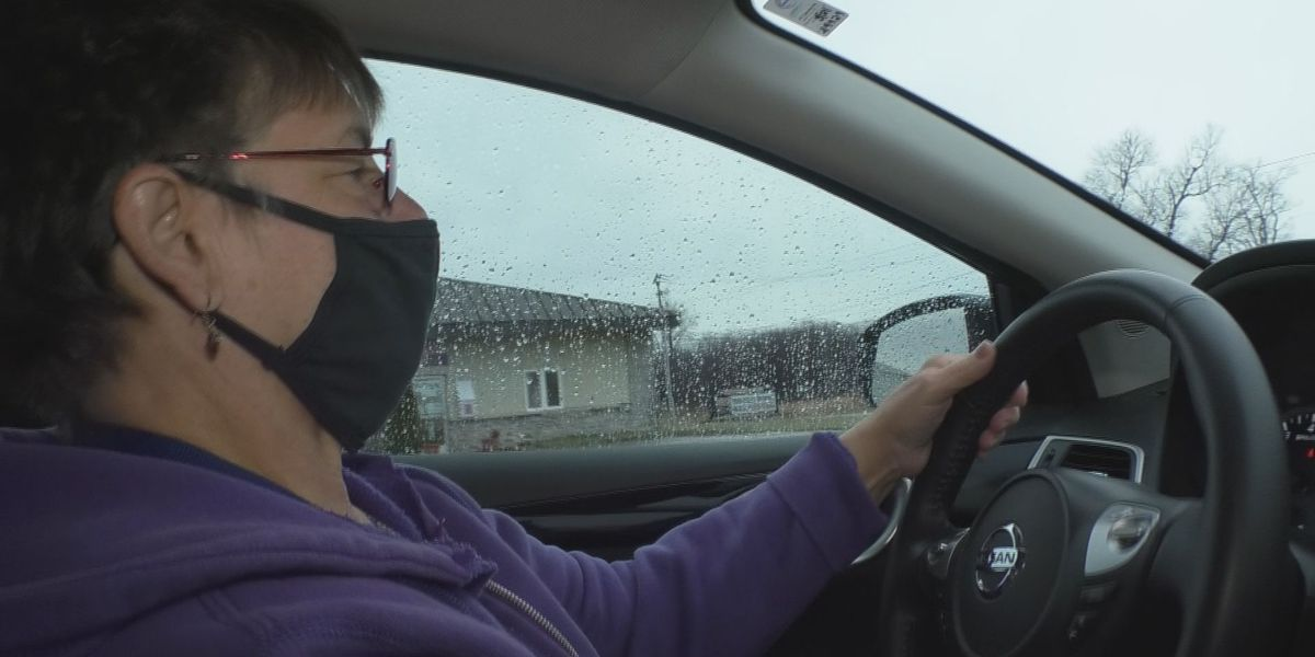 Stepping Up: Volunteer driver stays on the road, to help during pandemic