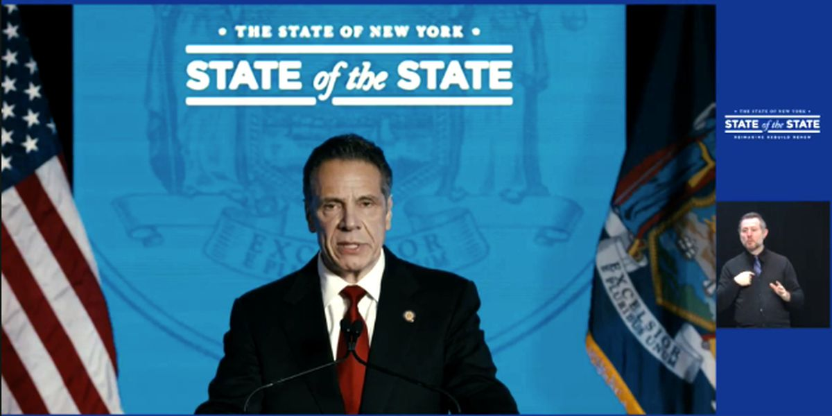 Cuomo delivers second of four State of the State addresses
