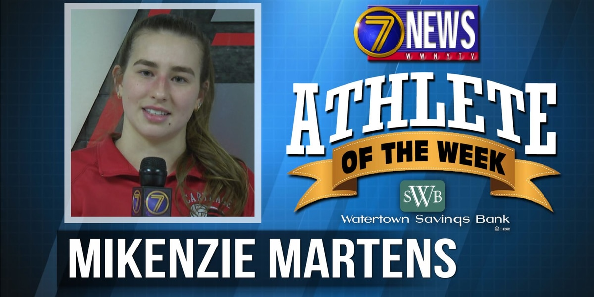 Athlete of the Week: Mikenzie Martens