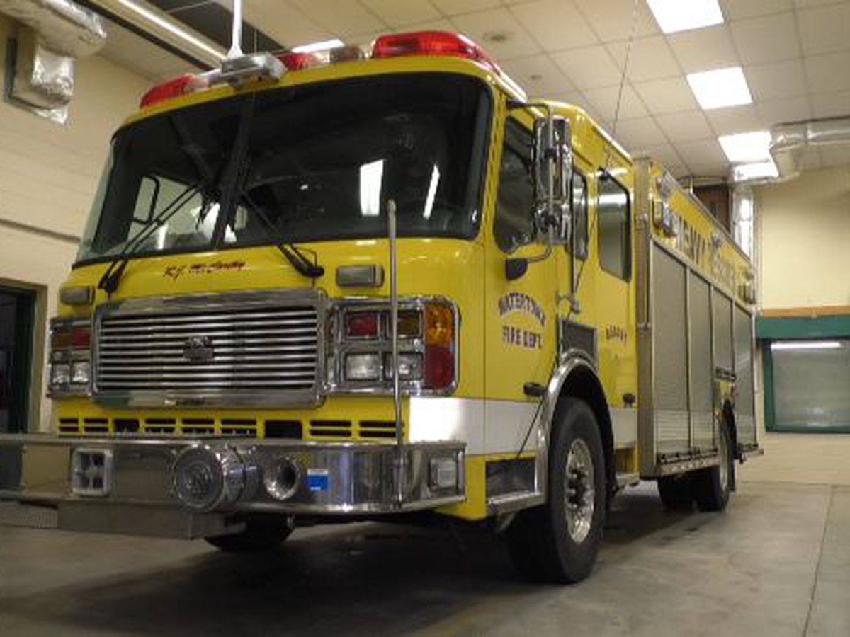Auction ends for Watertown's heavy rescue fire truck