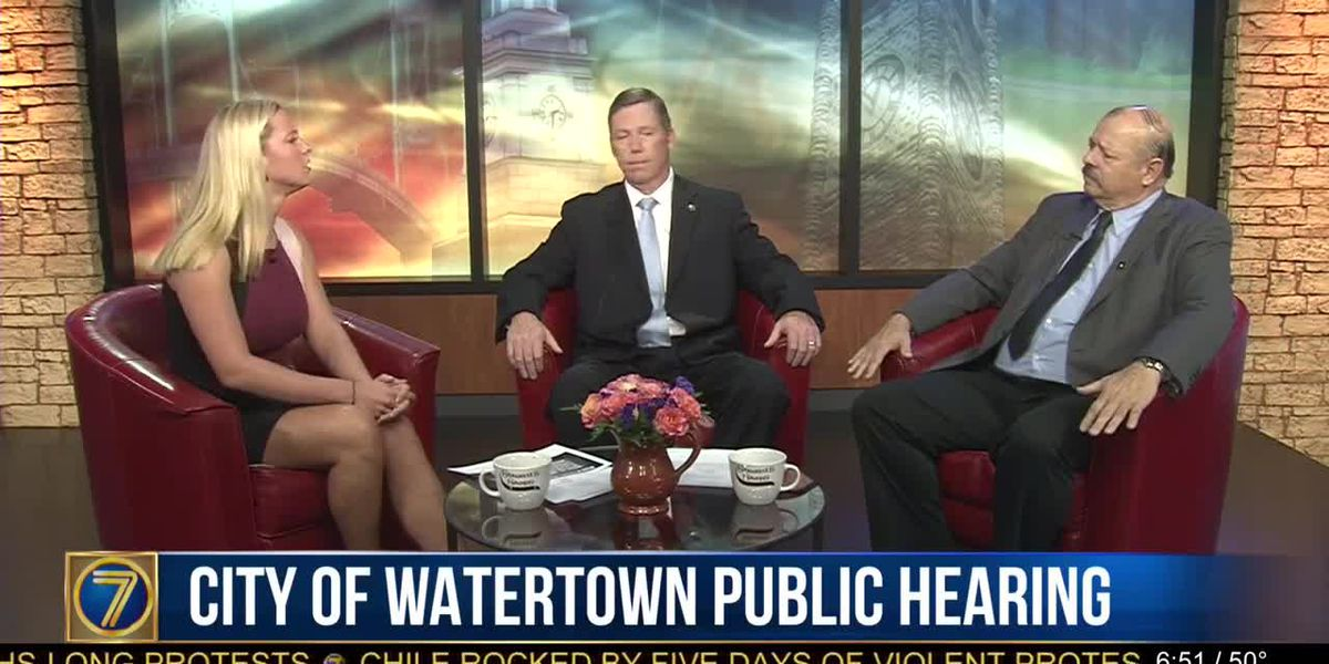 City of Watertown to hold hearing on strategic plan