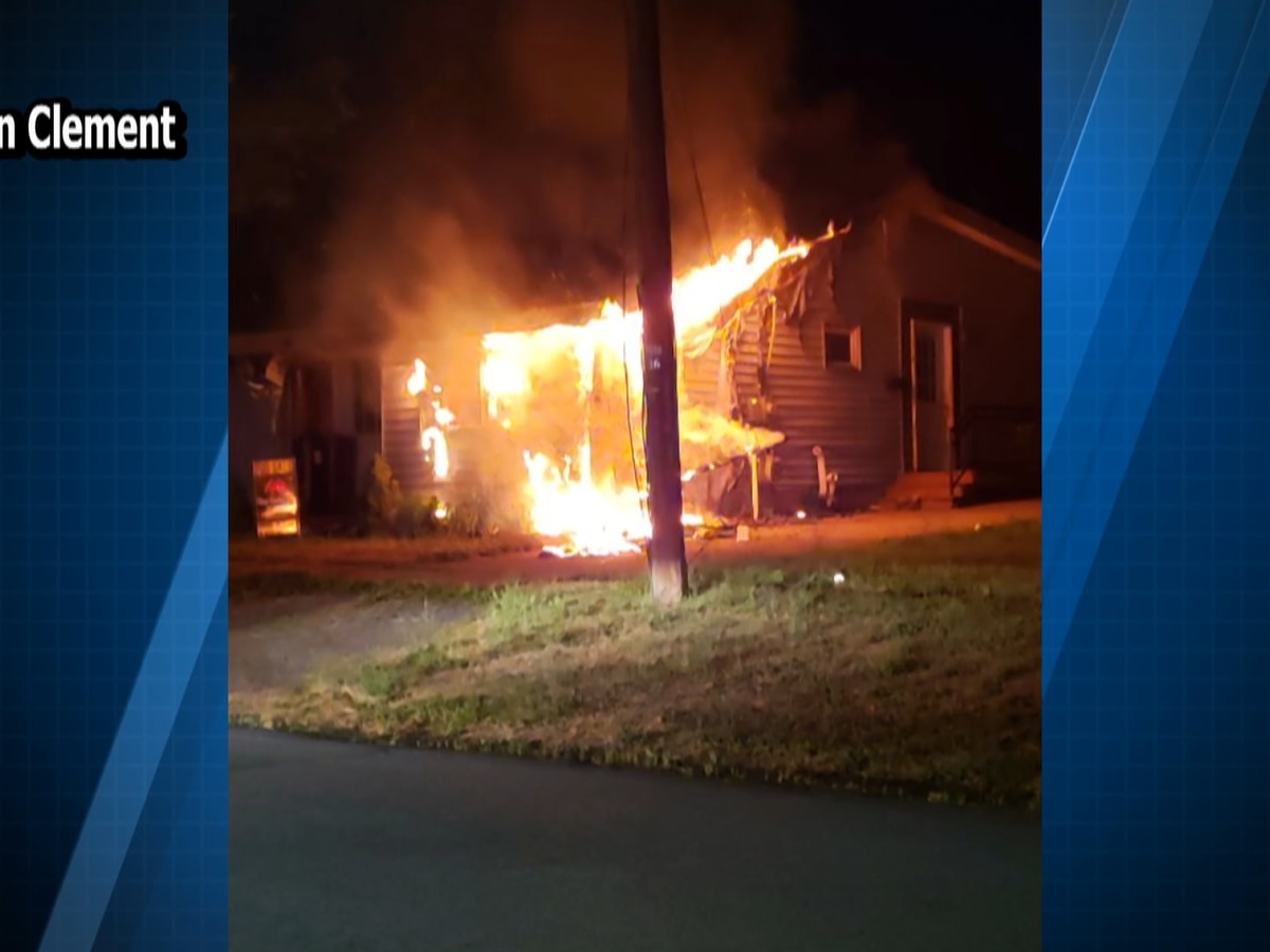 Responders knock down blaze at Dexter home