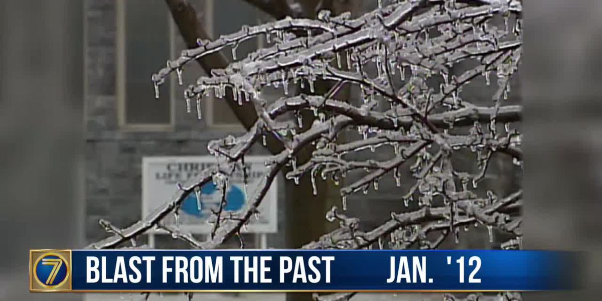 WWNY Blast from the Past: 2012 ice storm