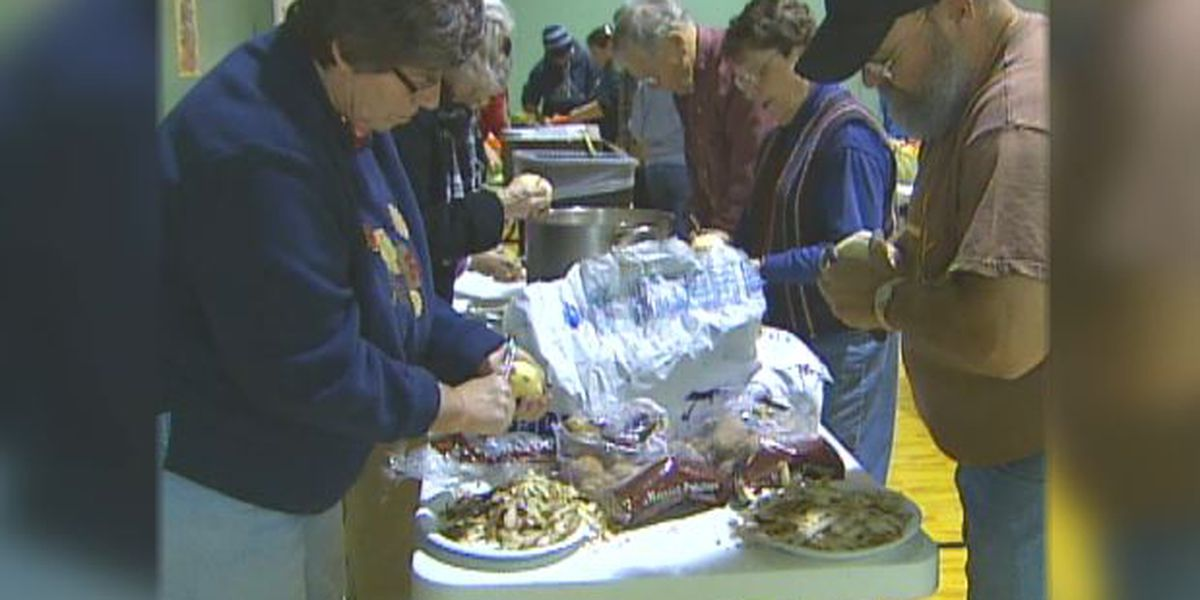 Blast from the Past: 2011 Thanksgiving volunteers