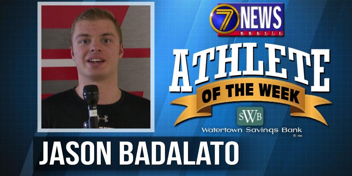 Athlete of the Week: Jason Badalato