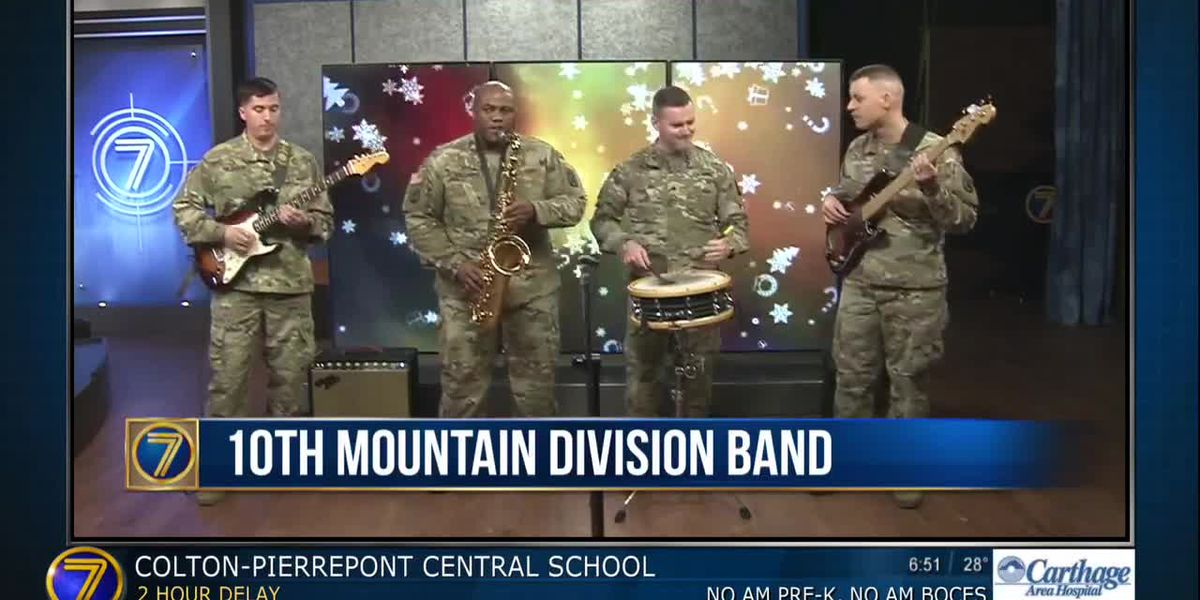 10th Mountain Division Band schedules holiday concerts