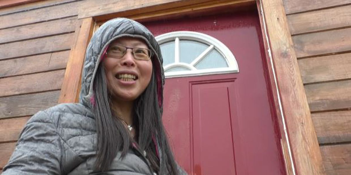 Local woman simplifies life with tiny house