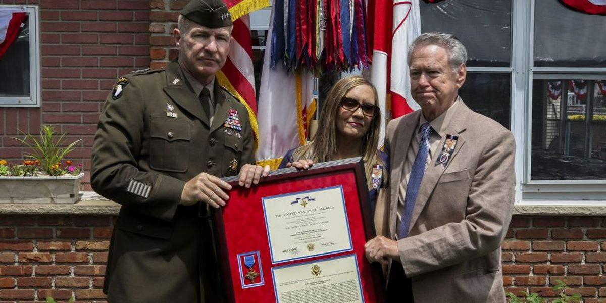 Fallen Fort Drum soldier receives Distinguished Service Cross