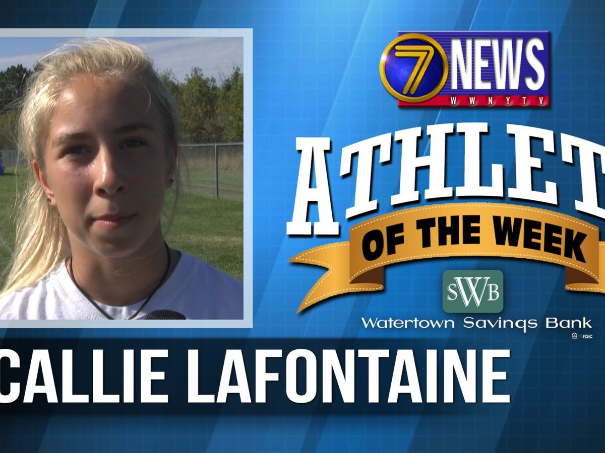Athlete of the Week: Callie Lafontaine