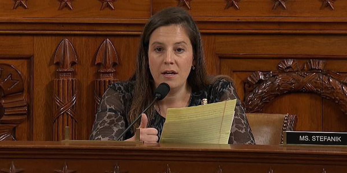 Congresswoman Stefanik speaks out about COVID-19 testing, impact on economy