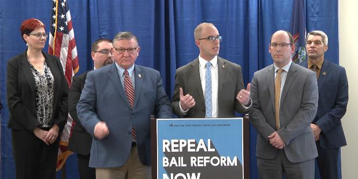 Local lawmakers call for repeal of state's criminal justice reform