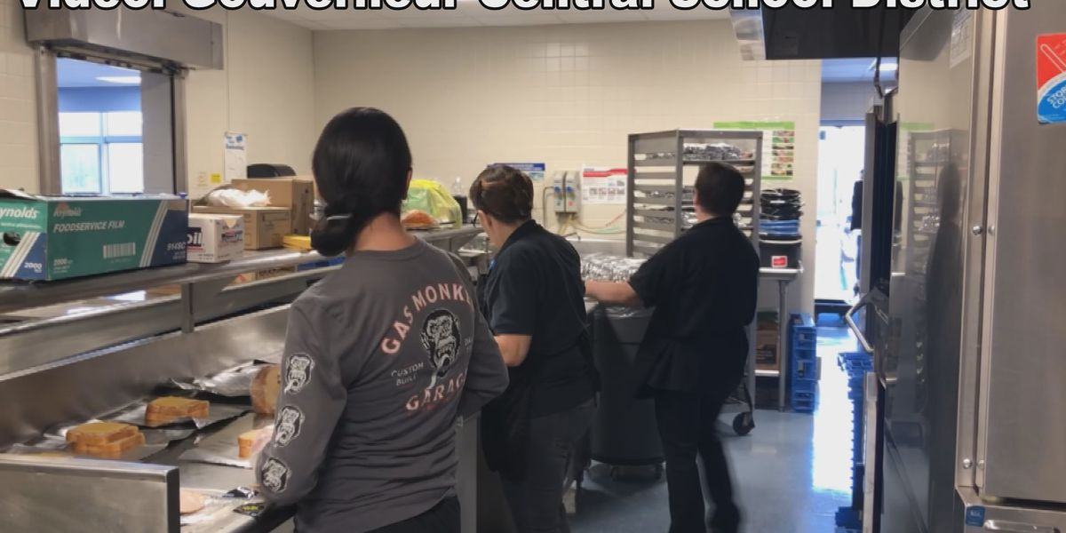 Gouverneur Central staff have been busy preparing meals for students