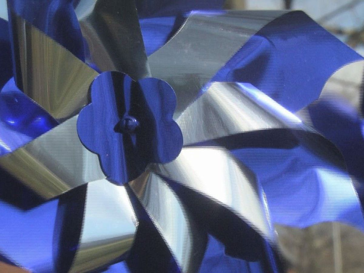 Pinwheels bring attention to child abuse