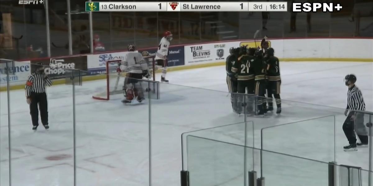 Sunday Sports: Clarkson denies SLU hockey a weekend sweep