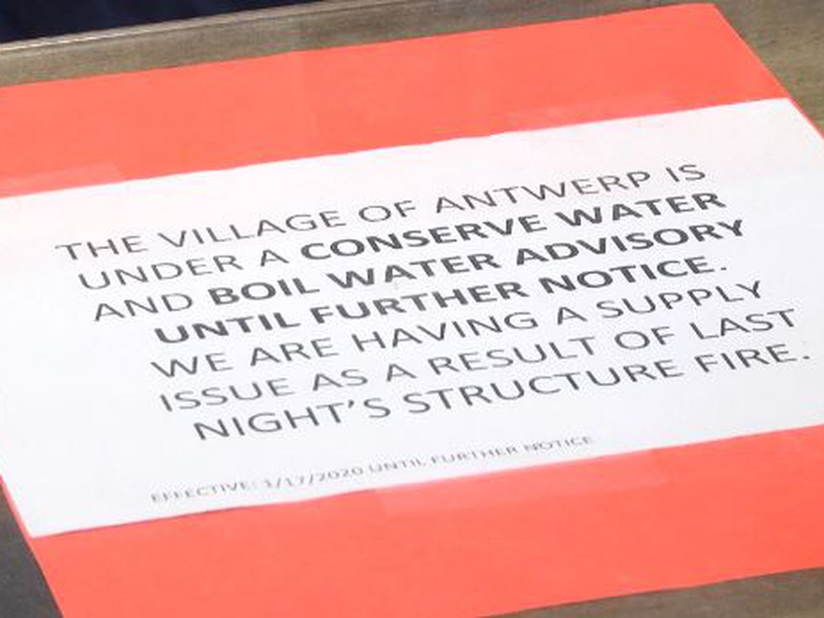 Antwerp's water problems affect villagers