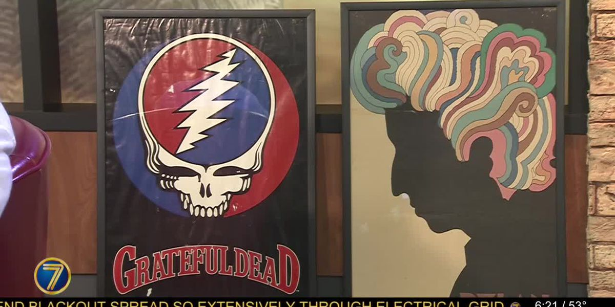 Music poster collection on exhibit at T.I. Arts Center