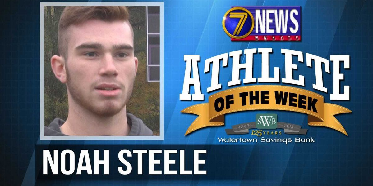 Athlete of the Week: Noah Steele