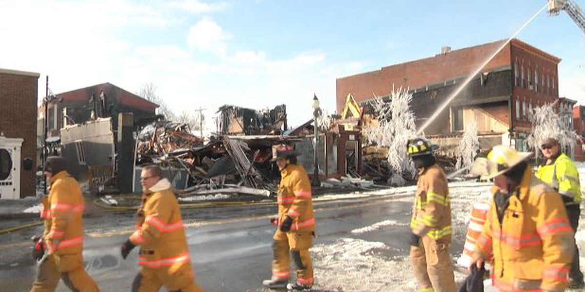 Boonville deals with aftermath of devastating fire