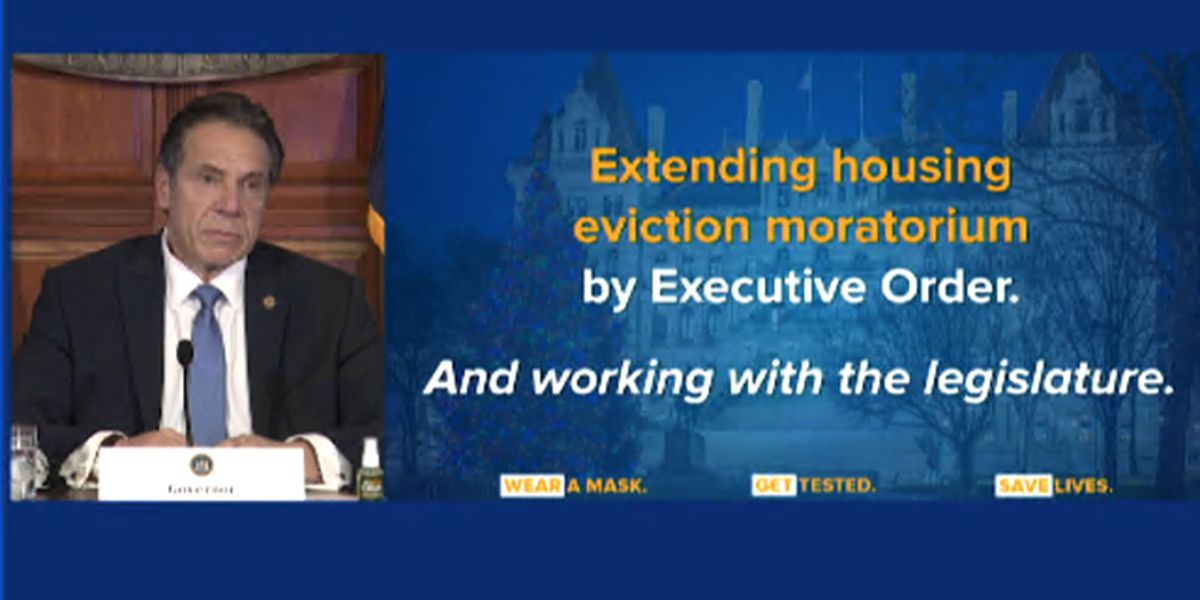 Governor signs extended eviction moratorium