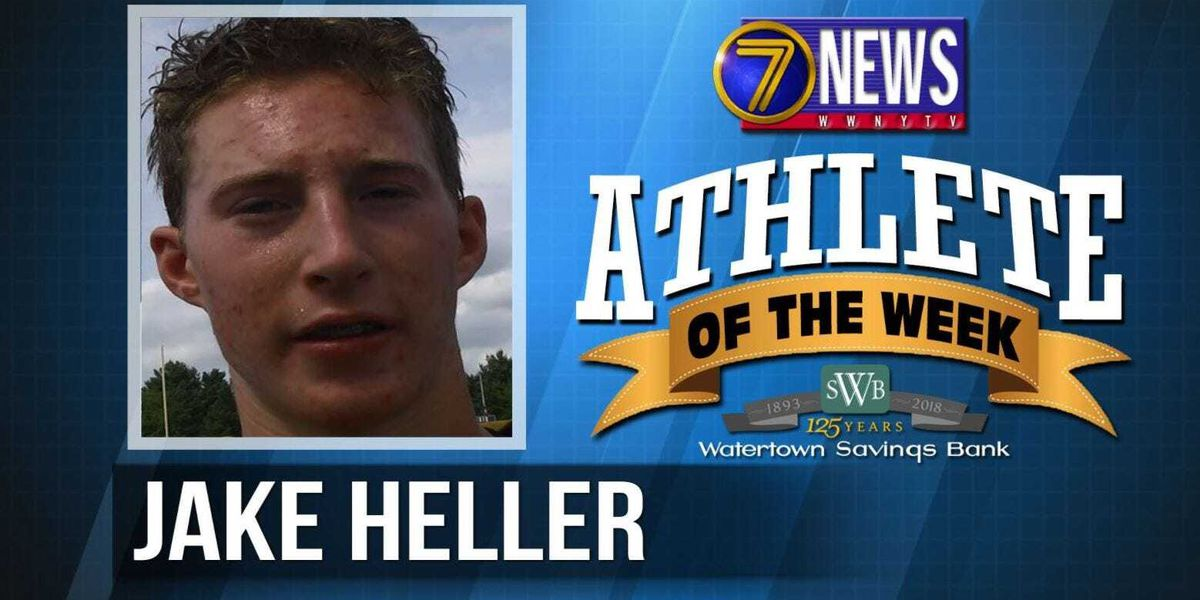 Athlete of the Week: Jake Heller