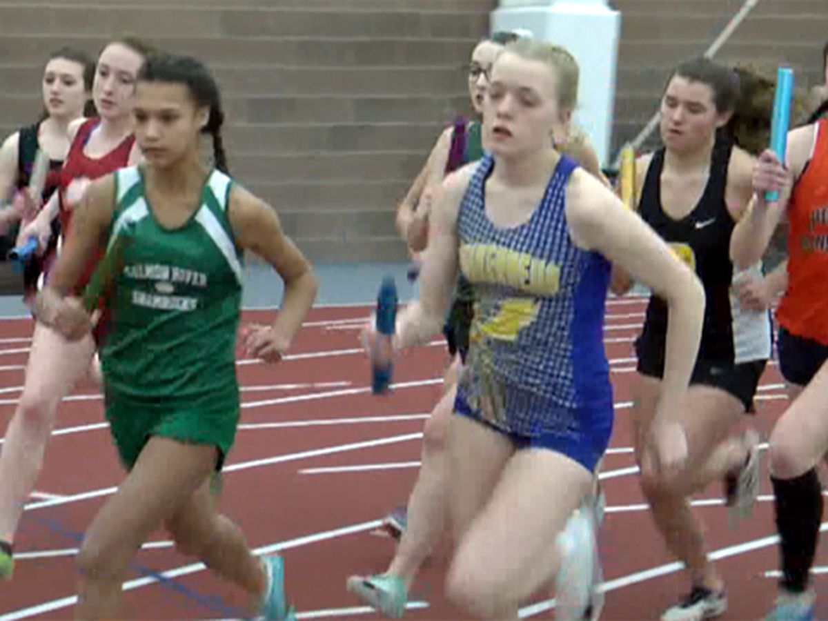 Canton & Malone win Section 10 indoor track titles