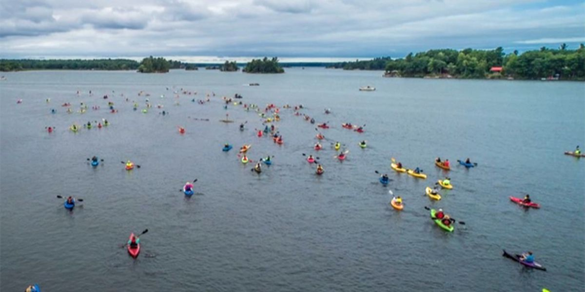 Paddle for a Purpose in Chippeway Bay