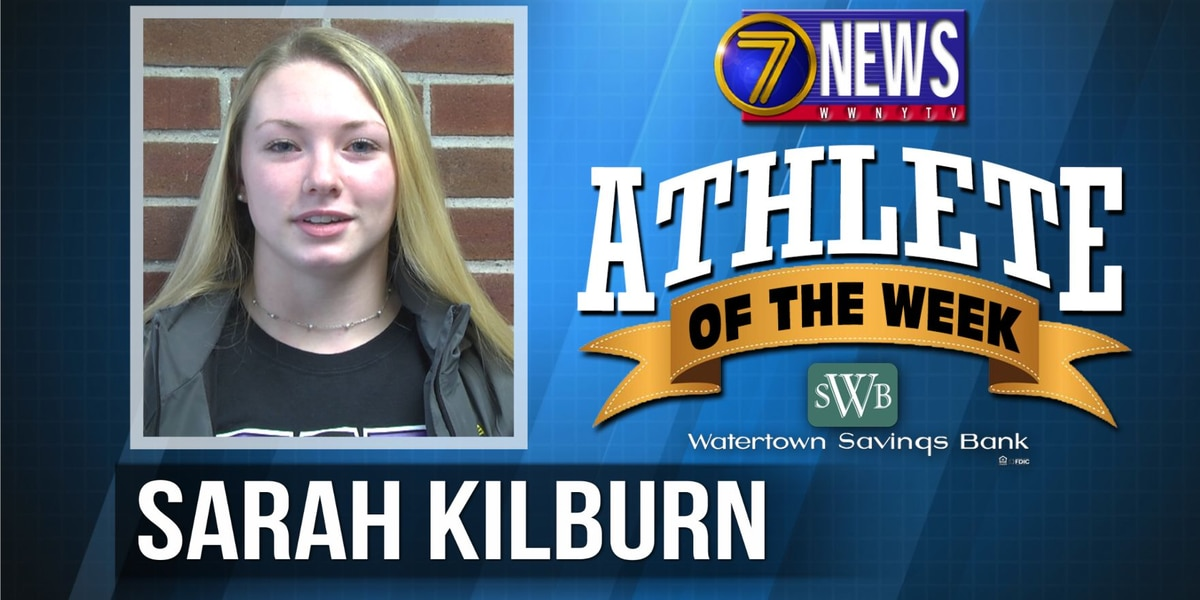 Athlete of the Week: Sarah Kilburn