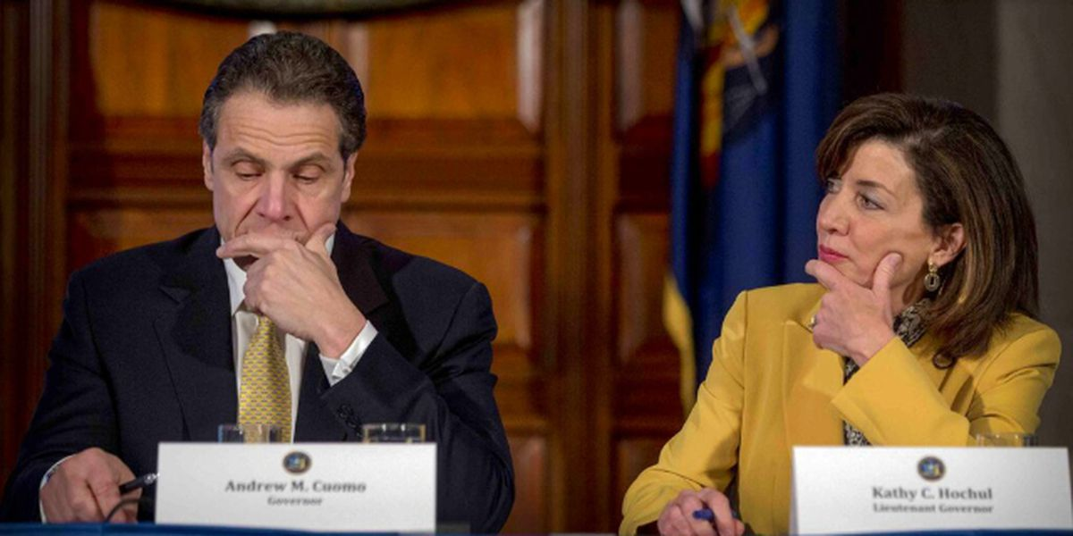 With Cuomo under fire, No. 2 Kathy Hochul treads carefully