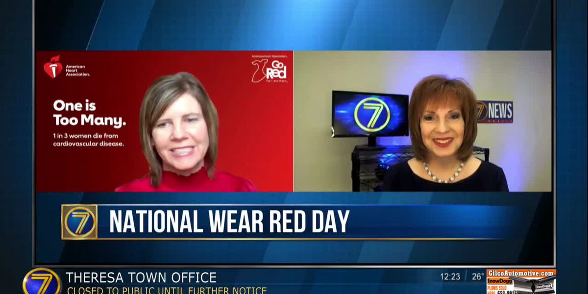 Friday's Wear Red Day to raise awareness of heart disease in women