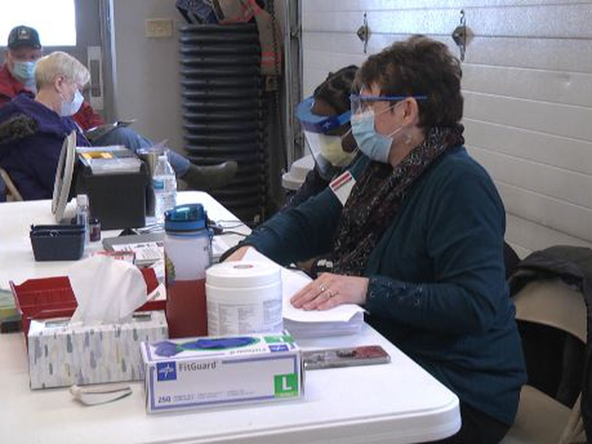 Vaccine distribution points in St. Lawrence County: 2 open, 3 others not yet