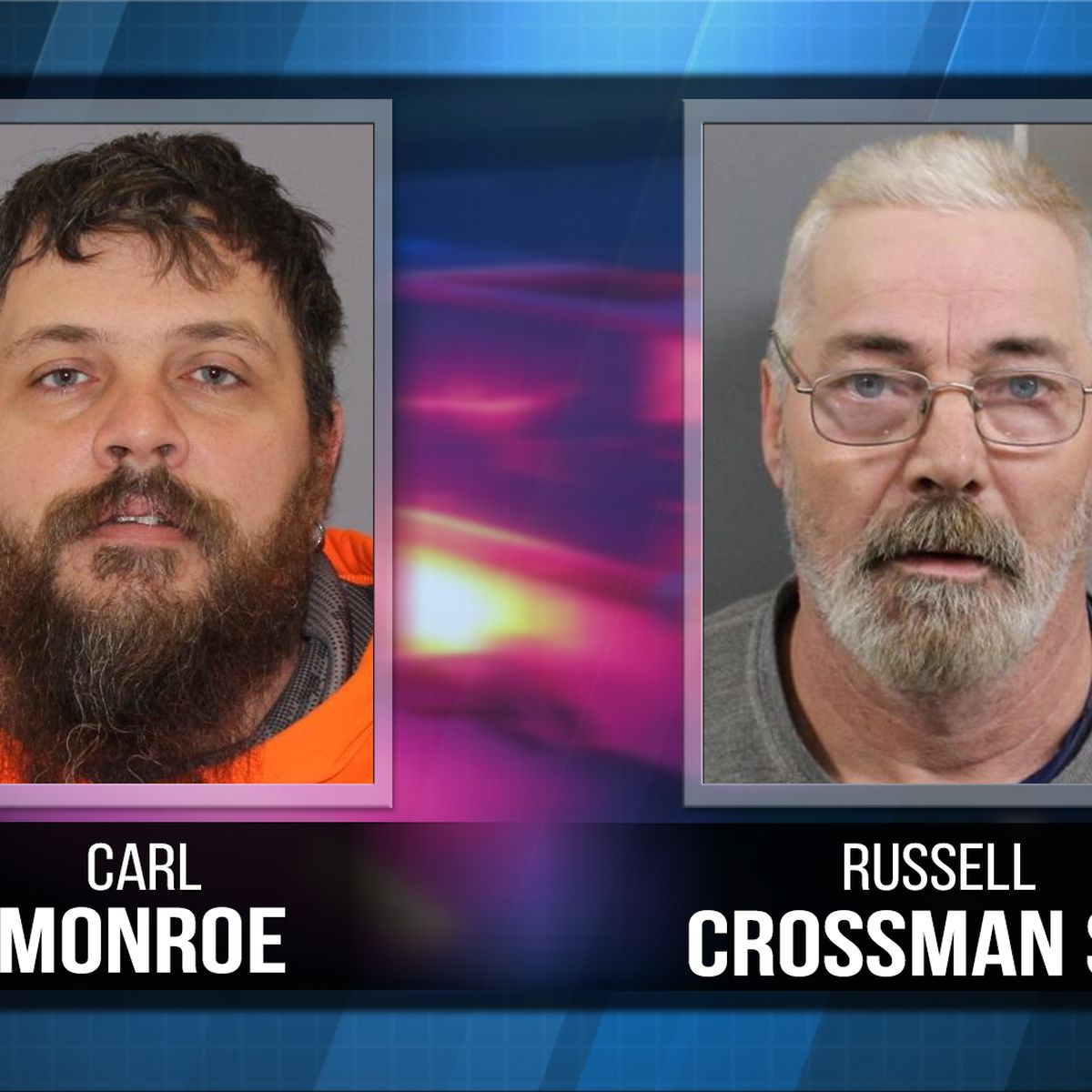 Sex offenders accused of not notifying authorities of address change