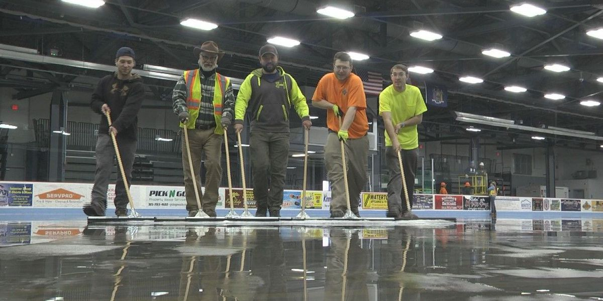 Watertown arena removes ice, prepares for emergency use