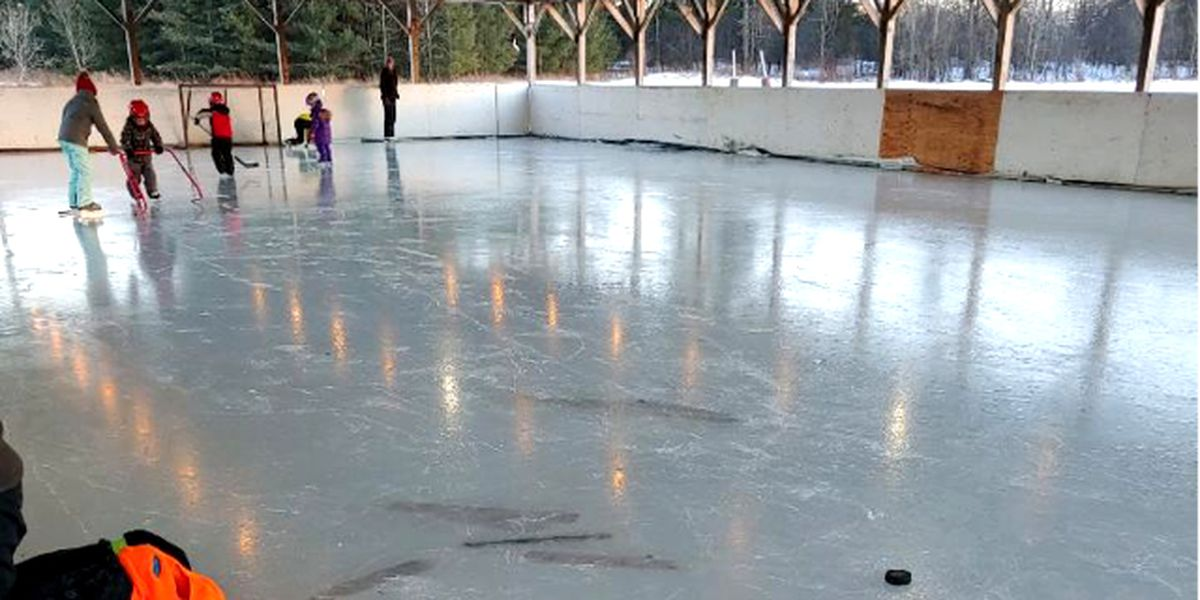 Looking for something to do in Morristown? The rink's open!