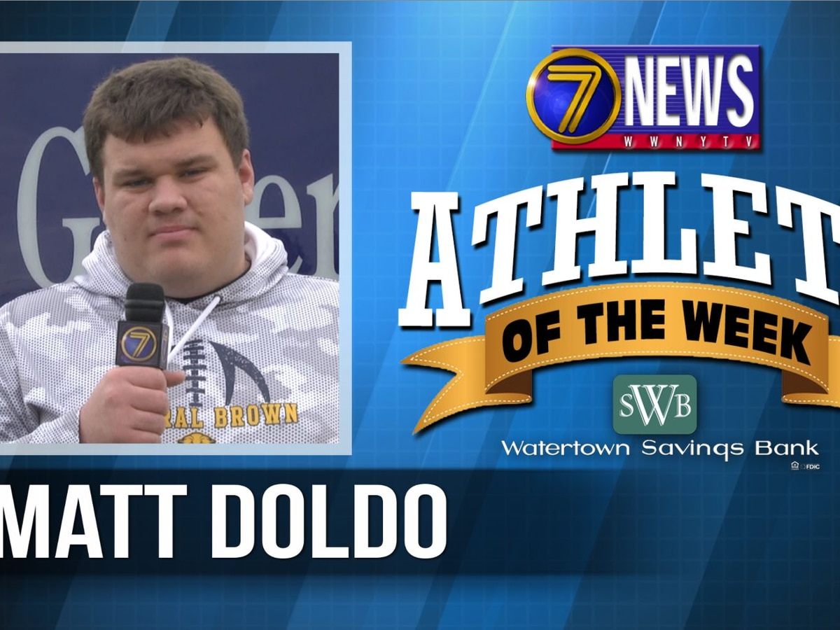 Athlete of the Week: Matt Doldo